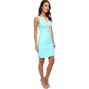 LILLY PULITZER | Janice Knit Blue Bright Dress